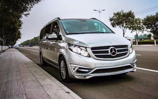 浙江杭州奔驰V260四座旗舰商务车