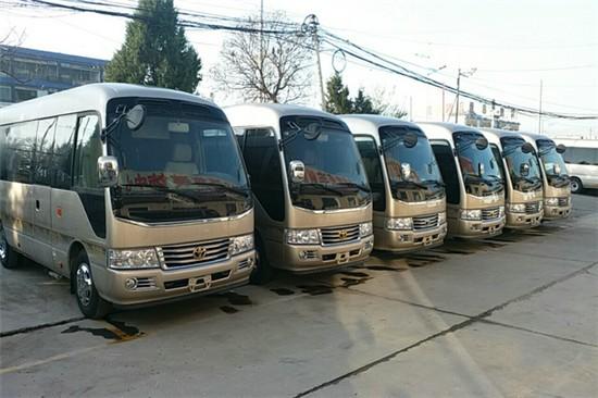 运城丰田考斯特11座报价 六缸4.0
