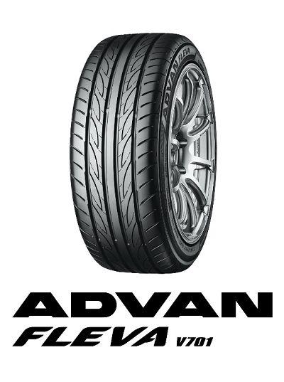 """优科豪马 高机能活动轮胎"""" ADVAN FLEVA V701""""上市"""