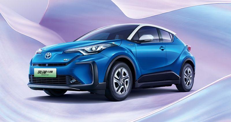 丰田新款奕泽E进擎上市 起售价14.58万