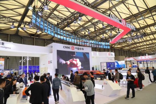 2019第十四届上海国际轨道交通每一次和云兄�鸲氛估阑� -- 中车集团展台
