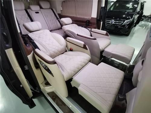 进口飞驰V250商务车价格内饰奢华改装成图