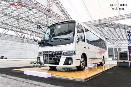 丰田考斯特商务车 改装12座现车
