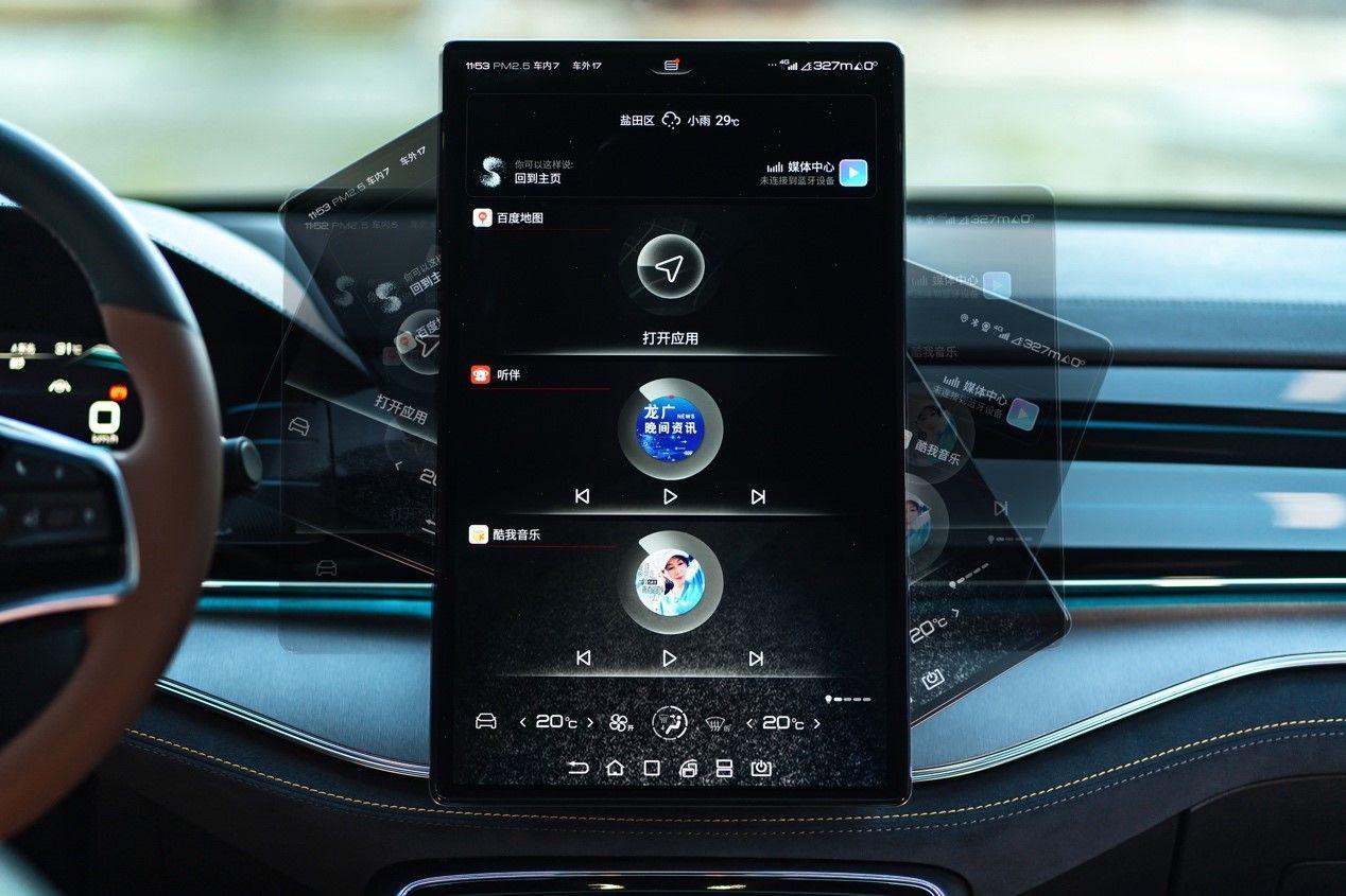 2021款唐燃油版和DM版 燃油预售价为17万以内