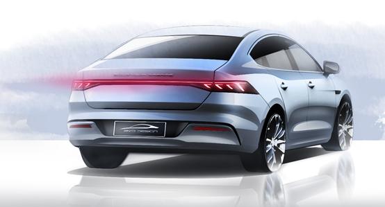 設計稿曝光,比亞迪或將推出全新A+級轎車?!