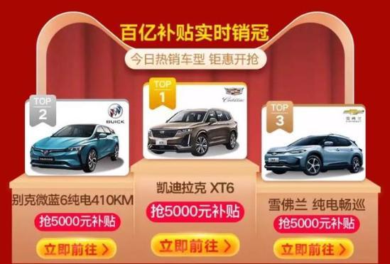 1300万人观看 33万订单的天猫买车人 都在哪儿呢?
