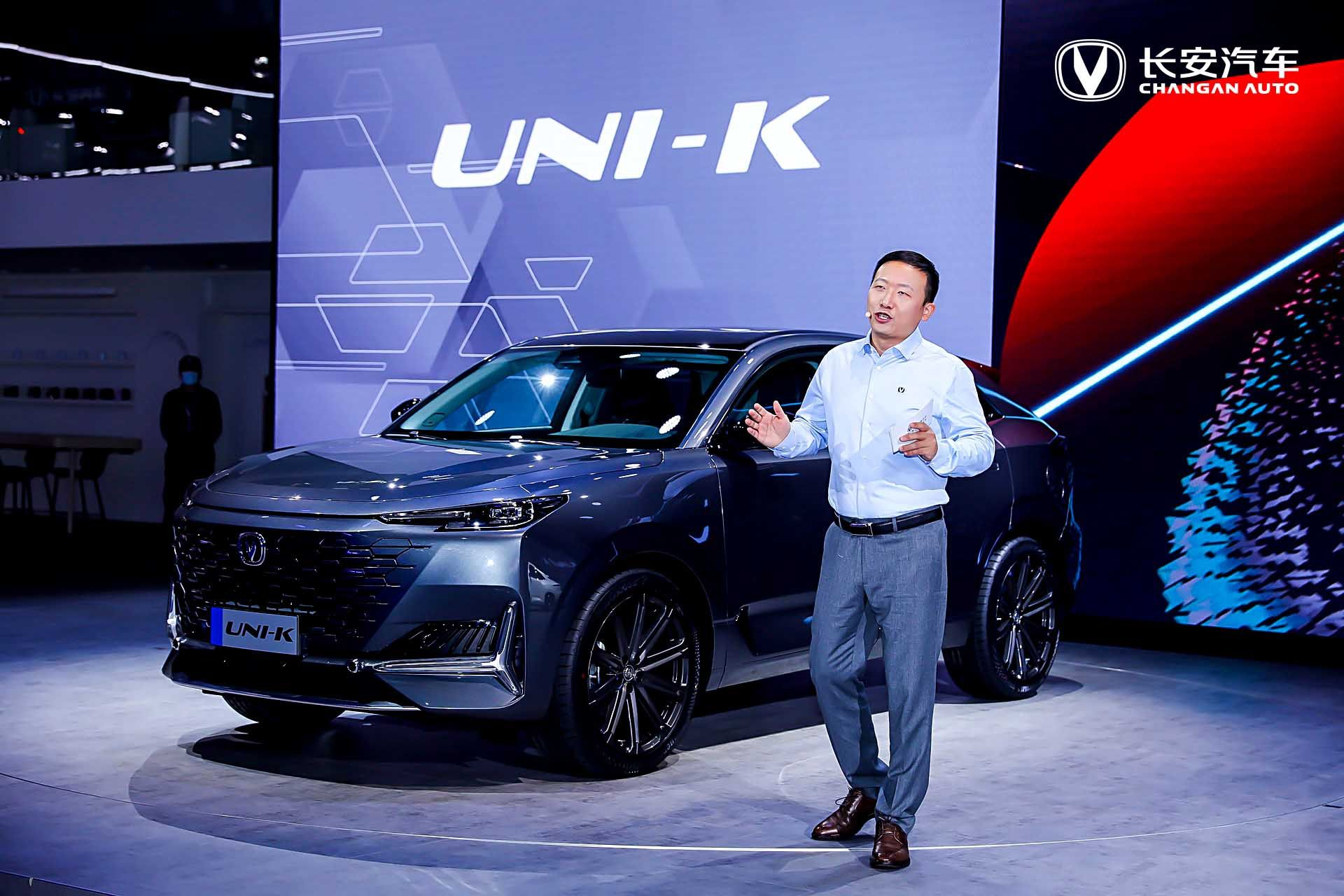 广州国际车展 长安UNI-K全球首发惊艳四座