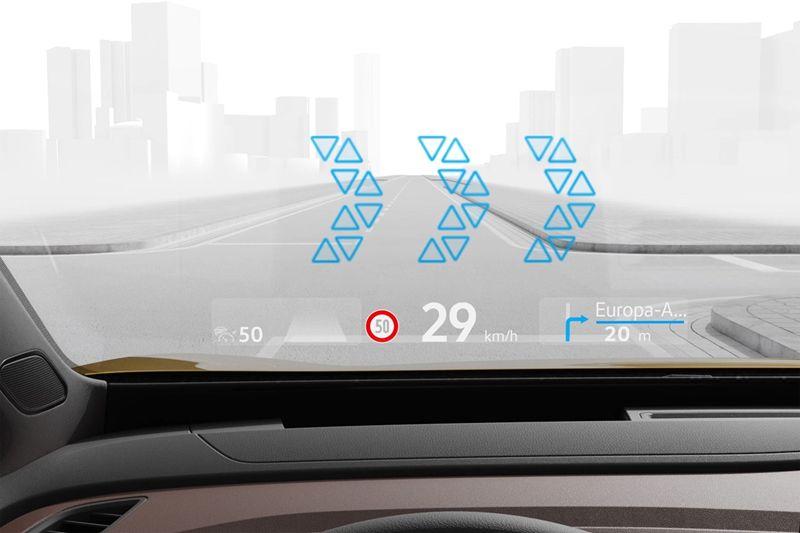 创新技术走向普及:大众汽车增强现实抬头显示系统