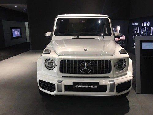 20款奔驰G63现车黑色白色暗影版现车多少钱_车讯网chexun.com-车讯网
