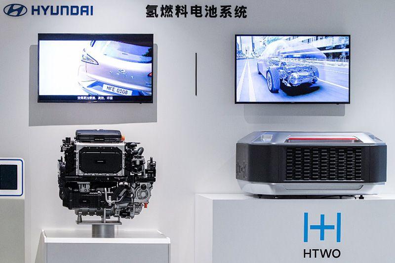 现代汽车氢燃料电池基地广州动工 北京现代完善新能源布局