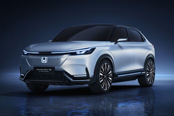 中國首款Honda純電動車量產在即 Honda SUV e:prototype全球首發