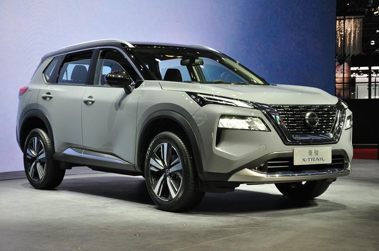 日產汽車展示全新一代奇駿 2021年下半年上市