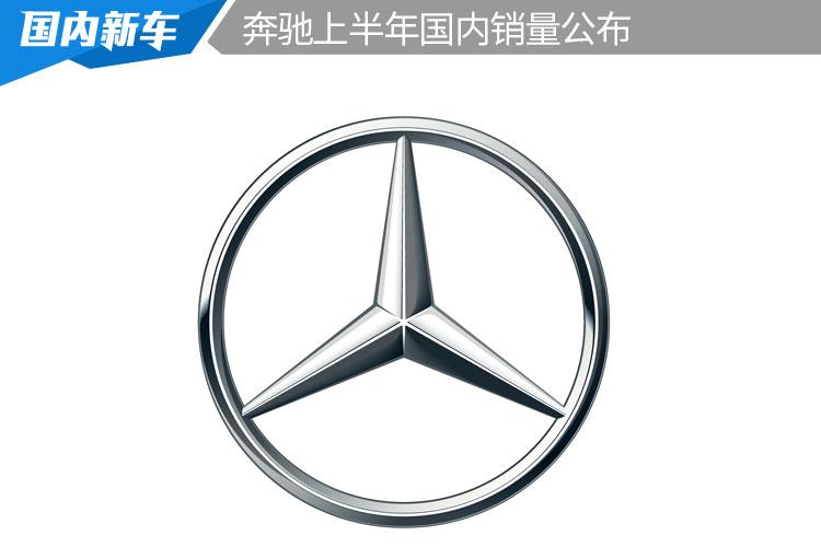 奔馳上半年國內銷量公布,超44萬輛,同比增27.6%