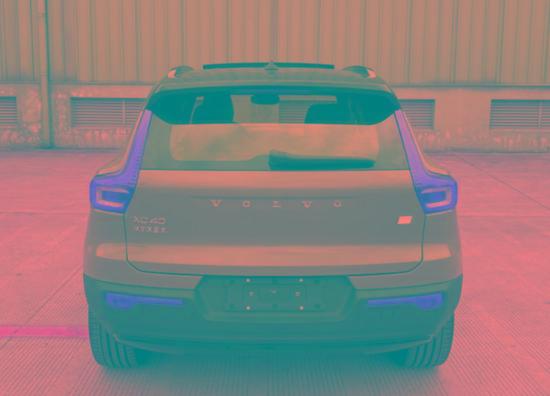 換搭單電機驅動,沃爾沃XC40純電動新車型申報圖曝光