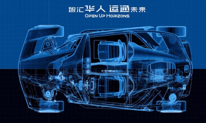 华人运通四轮转向轮毂电机工程车-RE05